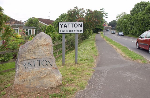 The village of Yatton, North Somerset